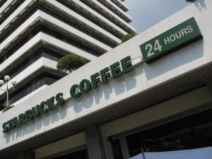 24 Starbucks