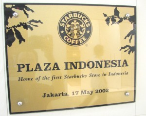 Starbucks Plaque